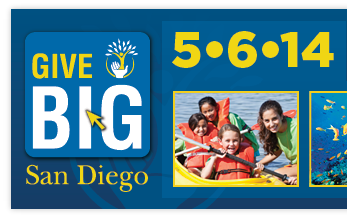 givebig day san diego