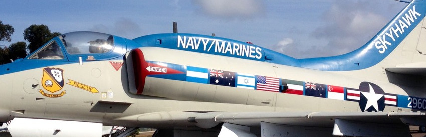 A-4M Skyhawk Marine Aircraft